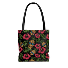 Load image into Gallery viewer, Tropical Skully Tote Bag