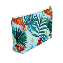 Load image into Gallery viewer, Tropical Accessory Bag w T-bottom