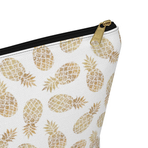 Pineapple Accessory Bag w T-bottom