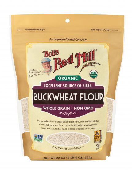 Bob's Red Mill, Organic Buckwheat Flour, 22oz