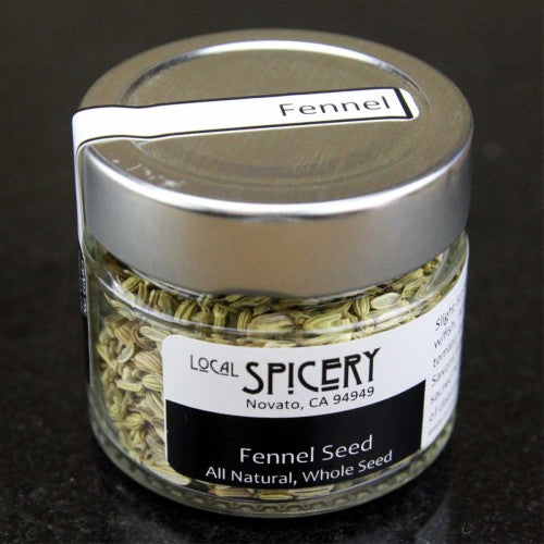Local Spicery, Fennel Seed, All Natural, Whole Seed