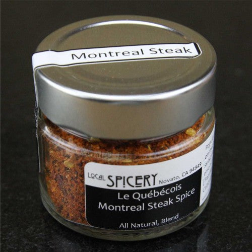 Local Spicery, Le Quebecois Montreal Rub, All Natural, Hand-Blended, Steak Rub