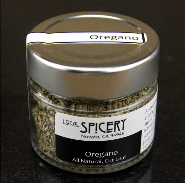 Local Spicery, Oregano Mediterranean, All Natural, Cut Leaf