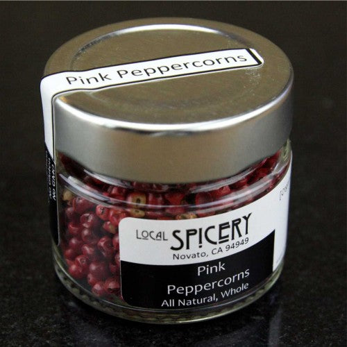 Local Spicery, Pink Peppercorns, All Natural, Whole