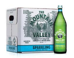Mountain Valley Sparkling Water, LTR / 12 each
