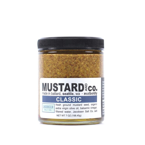 Mustard and Co. Classic Mustard with Balsamic Vinegar
