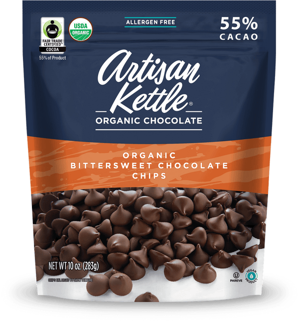 Artisan Kettle Organic Bittersweet Chocolate Chips