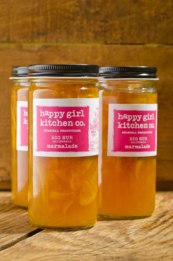 Happy Girl Kitchen Co., Big Sur California Marmalade, 8oz