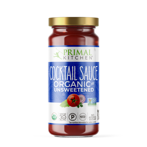 Primal Kitchen, Cocktail Sauce Organic Unsweetened, 8.5oz