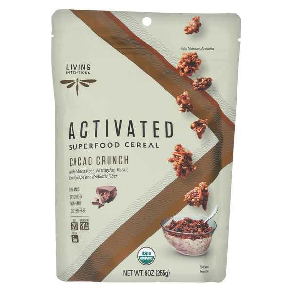 Living Intentions Cacao Crunch Activated Superfood Cereal