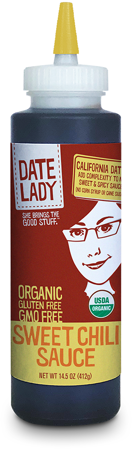 Date Lady, Organic Sweet Chili Sauce, 14.5oz