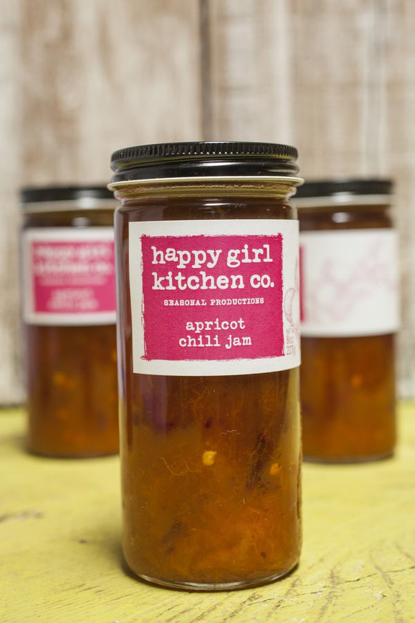 Happy Girl Kitchen Co., Apricot Chili Jam, 8oz