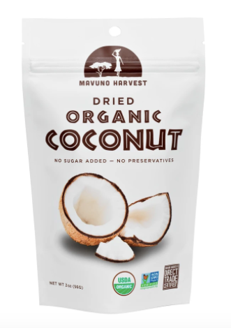 Mavuno Harvest Dried Organic Coconut
