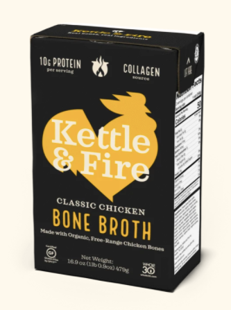 Kettle & Fire Chicken Broth