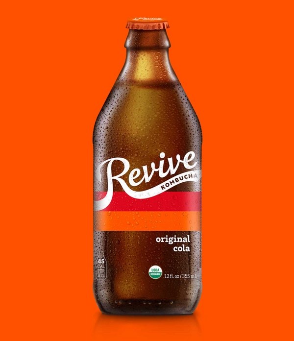Revive Kombucha Original Cola