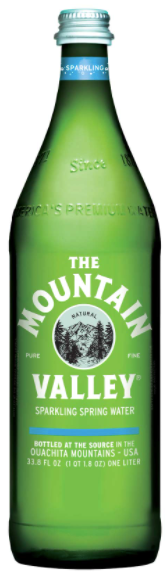Mountain Valley Spring Water, Sparkling 500ml bottle