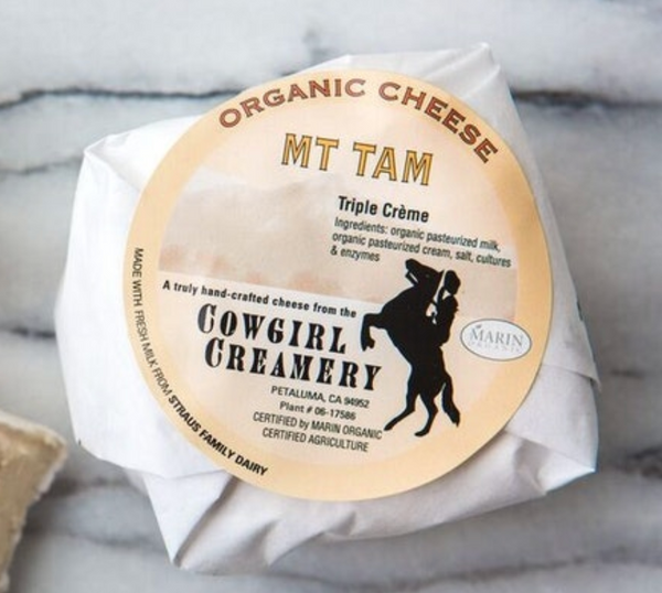 Cowgirl Creamery Mt. Tam Triple Creme Cheese