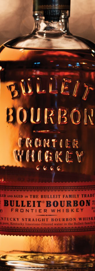 Bulleit Bourbon, Frontier Whiskey 1 ltr