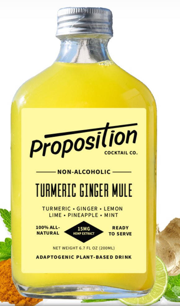 Proposition Cocktails Non-Alcoholic Turmeric Ginger Mule 6.7oz