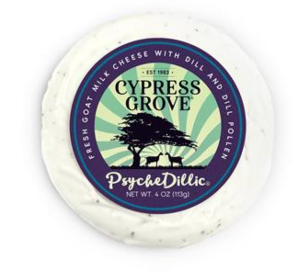 Psychedillic Goat Milk Cheese Dill 4oz