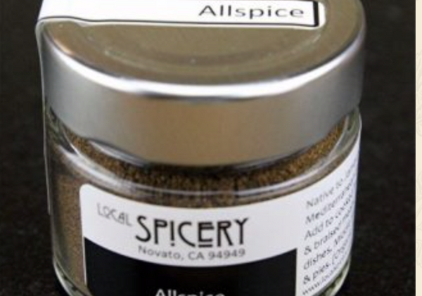 Local Spicery, All Spice, All Natural, Milled Locally 36g