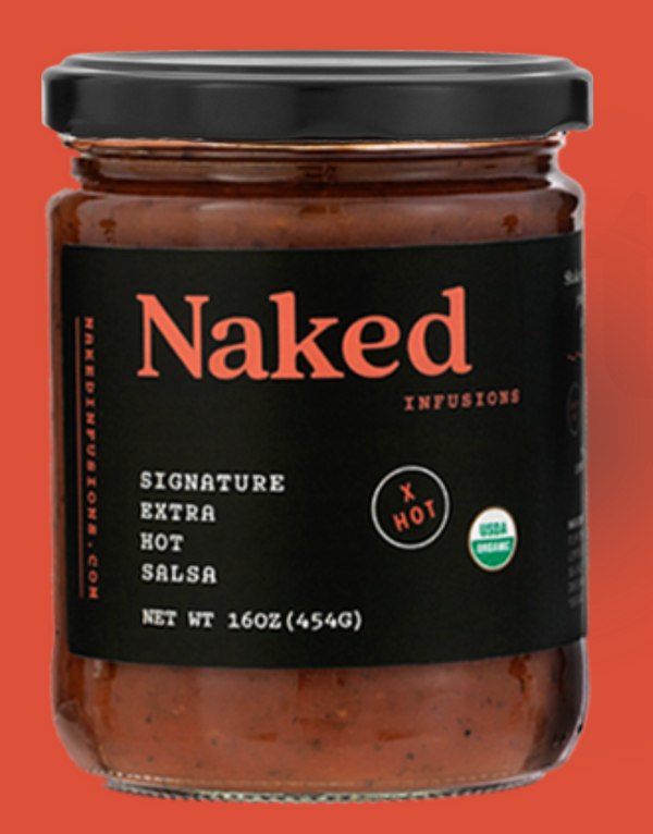Naked Infusions Extra Hot Salsa