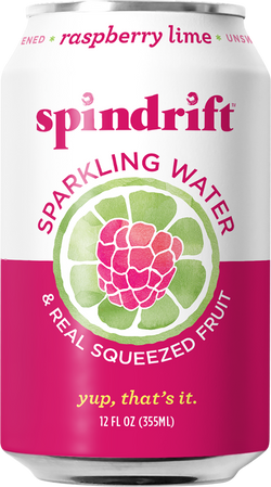 Spindrift Sparkling Water Raspberry Lime