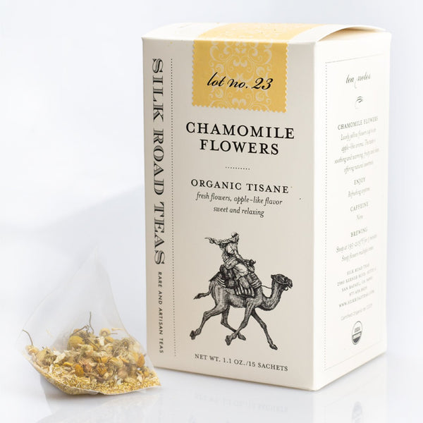 Silk Road Teas, Chamomile Flowers, Organic Tisane