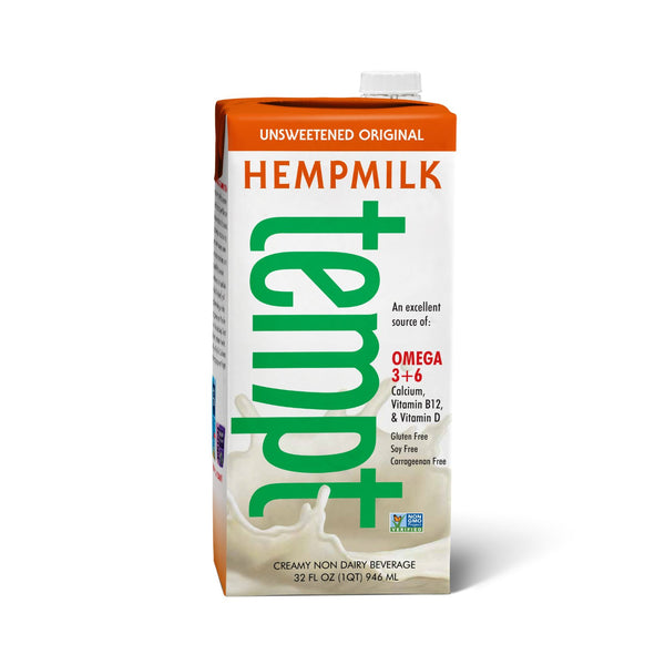 tempt Unsweetened Original Hemp Milk, 32 fl oz