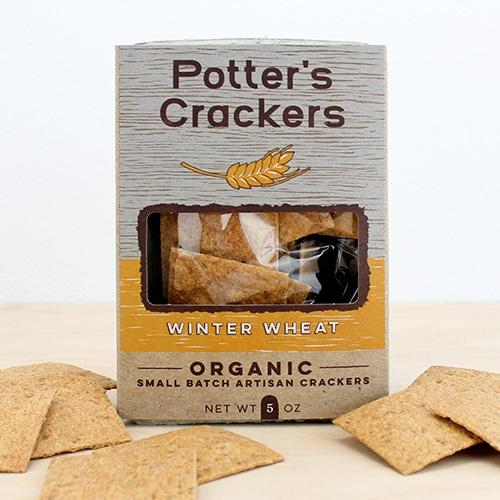 Potter's Crackers, Winter Wheat, 5oz