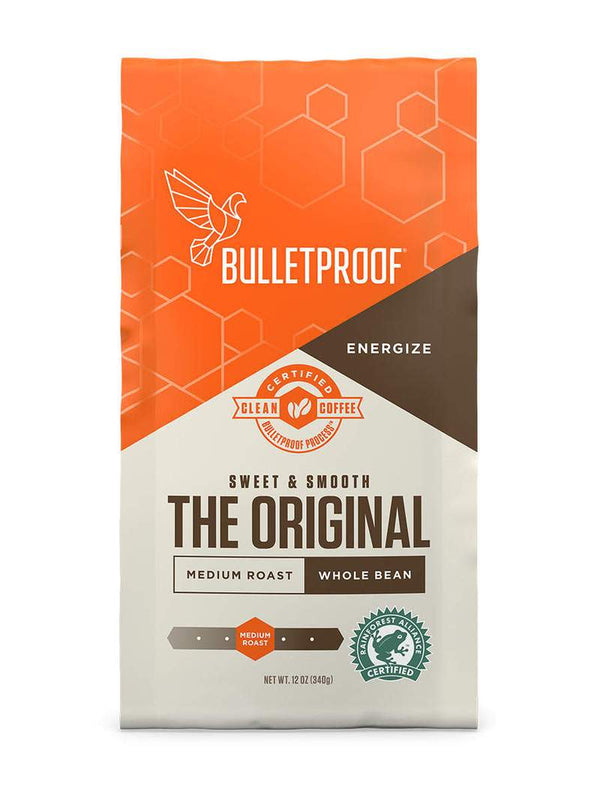Bulletproof The Original Medium Roast Whole Bean Coffee