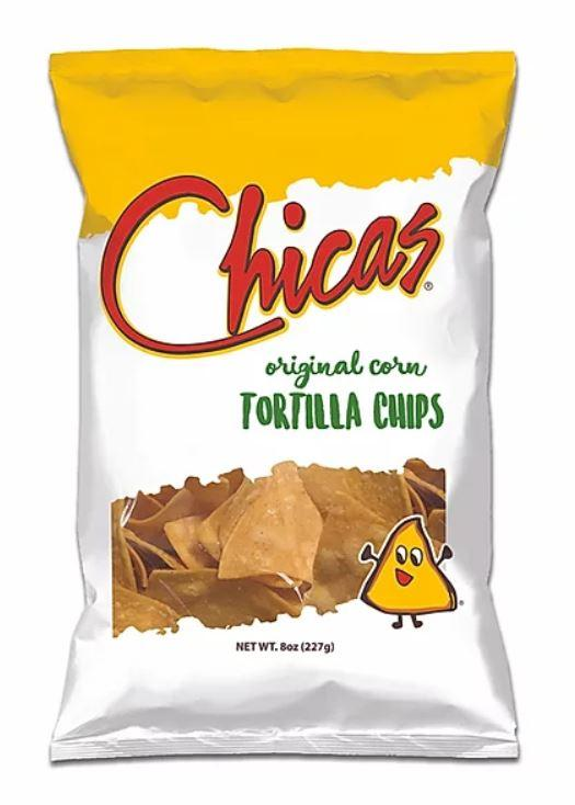 Chicas, Original Corn Toritlla Chips, 8oz