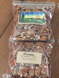 Peacock Family Farms, Pecans, 8 oz