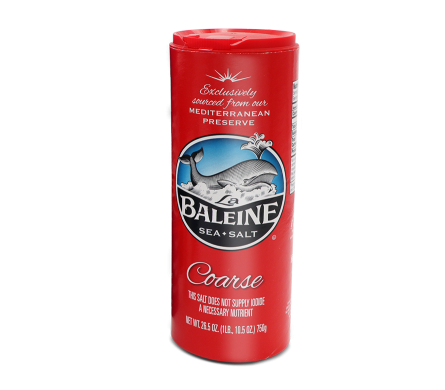 Baleine, Sea Salt, Coarse, 26.5 oz
