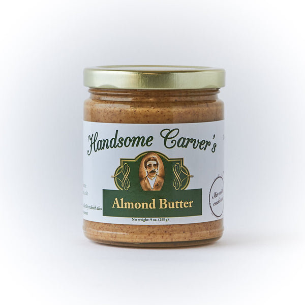 Handsome carver's almond butter