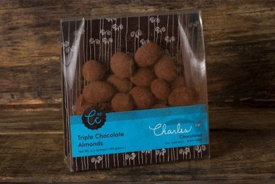 Charles chocolates triple chocolate almonds