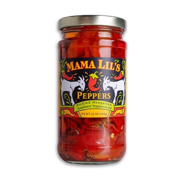 Mama Lil's Pickled Hungarian Peppers, 12 oz