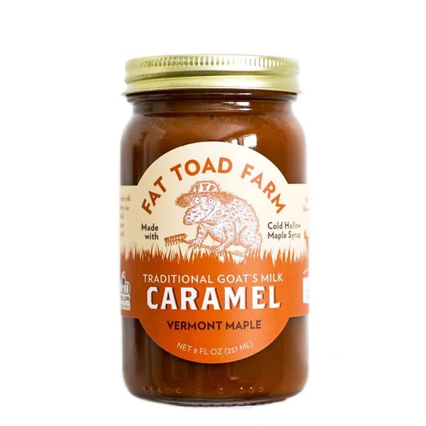 Fat toad farm caramel vermont maple