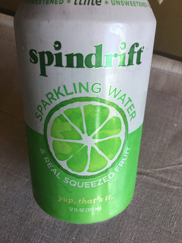 Spindrift lime