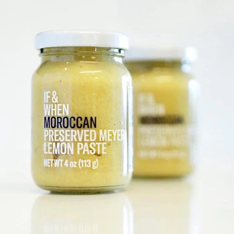 If & when Moroccan preserved Meyer lemon paste