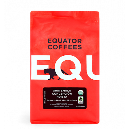 Equator coffees Guatemala Concepcion Huista