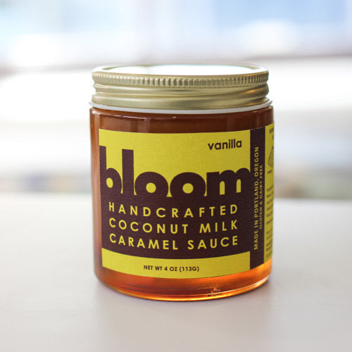 Bloom Vanilla Coconut Milk Caramel Sauce