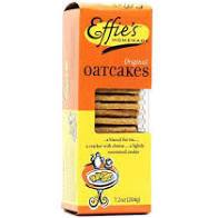 Effie's Crackers, Oatcakes, 7.2oz
