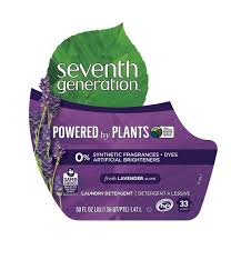 Seventh Generation, Powered by Plants, Laundry Detergent, Lavender Scent