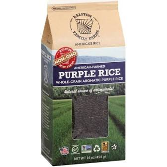 Ralston Family Farms, Whole-Grain Aromatic Purple Rice 16oz