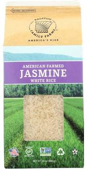 Ralston Family Farms, Whole-Grain Aromatic Jasmine White Rice 24oz