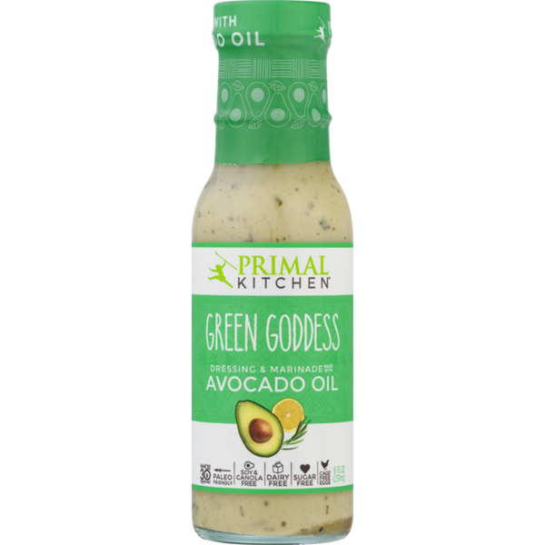 Primal Kitchen, Green Goddess Dressing, 8oz