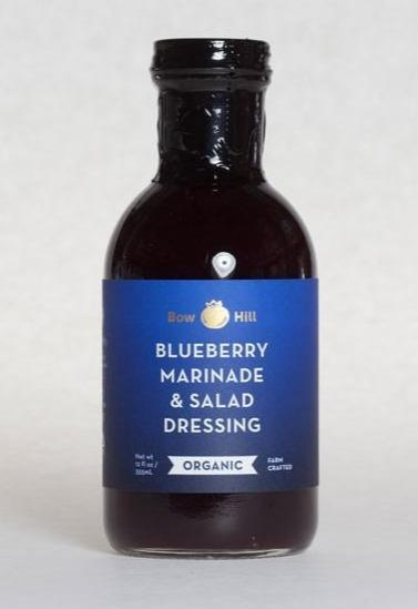 Bow Hill, Organic Blueberry Marinade & Salad Dressing, 12 fl oz