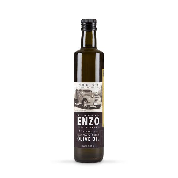 Enzo, Medium – California Grown Arbosana Extra Virgin Olive Oil 250ml