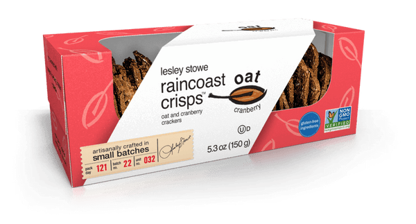 Raincoast Crisps, Oat & Cranberry, 6oz